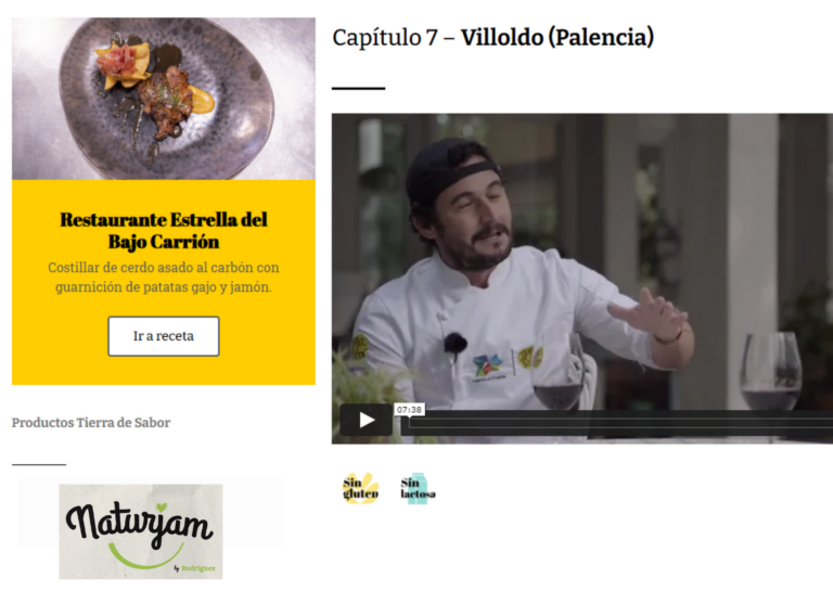rodriguez webserie tierra sabor
